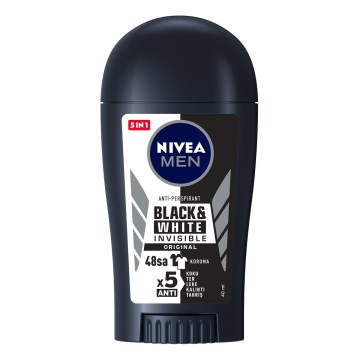 Nivea - Black & White Power Bayan Stick 40 Gr