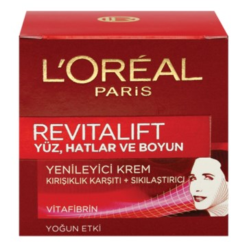 Loreal Paris - Revitalift Yüz ve Boyun Kremi 50 ml