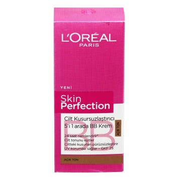Loreal Paris - Skin Perfection BB Krem Açık 50 ml