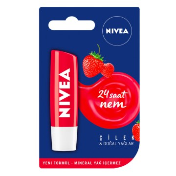 NIVEA - Strawberry Dudak Kremi