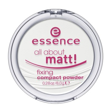 Essence - Kompakt Pudra All About Matt Fixing