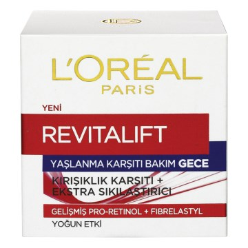 Loreal Paris - Revitalift Gece Kremi 50 ml