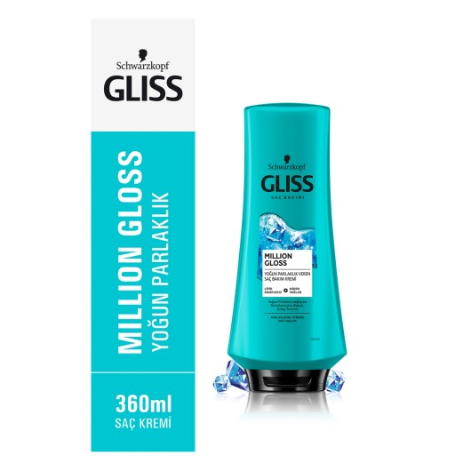 Gliss - Million Gloss Saç Kremi 400 ml