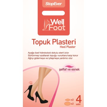 Stop Ever - Well Foot Topuk Plasteri