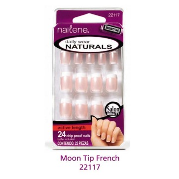 Nailene - Daily Wear Moon Tip French