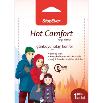 Stop Ever - Hot Comfort Cep Isıtan Ped