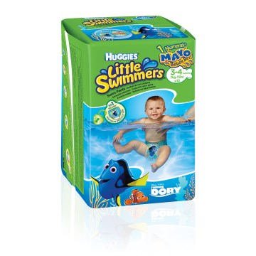 Huggies - Little Swimmers Mayo Bebek Bezi 7kg-15kg