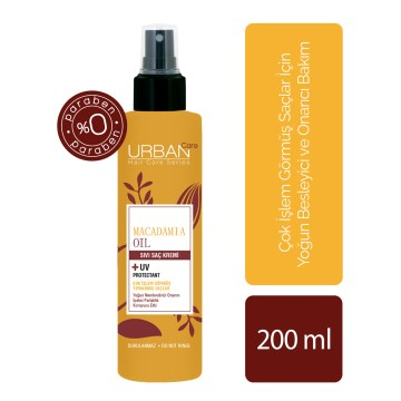 Urban Care - Macadamia Oil Sıvı Saç Kremi 200 ml