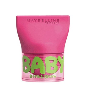 Maybelline New York - Babylips Balm&Blush Flirt Pink