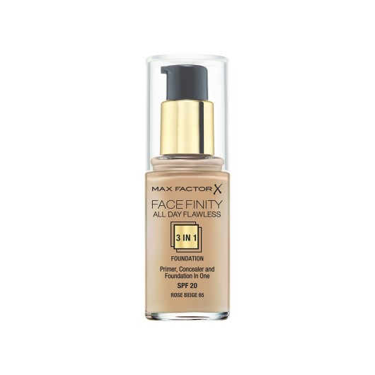 Max Factor - Face Finity 3'in1 Fondöten 65 Rose Beige