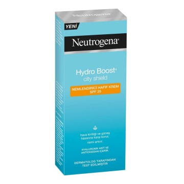 Neutrogena - Hydro Boost City Shield Nemlendiri Krem 50 ml