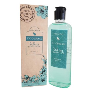 Beauty House - Eco Balance White Jasmine Cedar Duş Jeli 260 ml