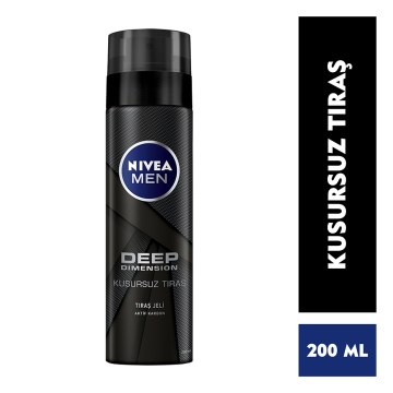 Nivea - Deep Dimension Tıraş Jeli 200 ml