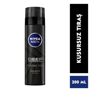 Nivea - Deep Dimension Tıraş Köpüğü 200 ml