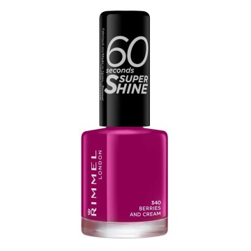 Rimmel London - Super Shine Oje - Berries and Cream 340