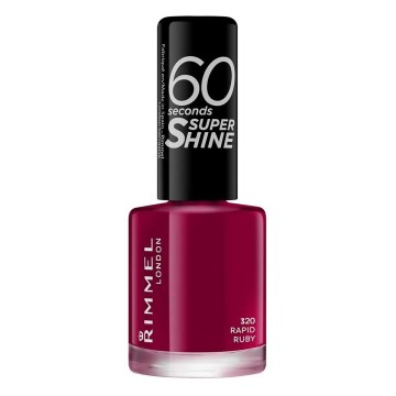 Rimmel London - Super Shine oje - Rapid Ruby 320