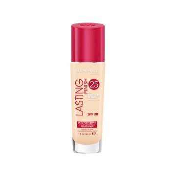 Rimmel London - Long Lasting Finish Fondöten - Ivory 100
