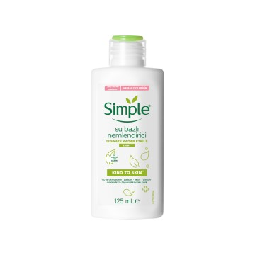 Simple - Su Bazlı Nemlendirici 125ml