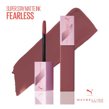 Maybelline New York - PUMA X Maybelline Super Stay Matte Ink Likit Mat Ruj - 11 Fearless