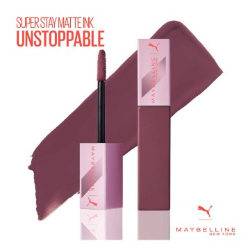Maybelline New York - PUMA X Maybelline Super Stay Matte Ink Likit Mat Ruj - 12 Unstoppable