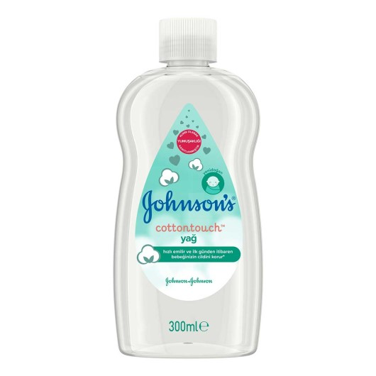 Johnsons Baby - Bebek Yağı Cotton Touch 300 Ml