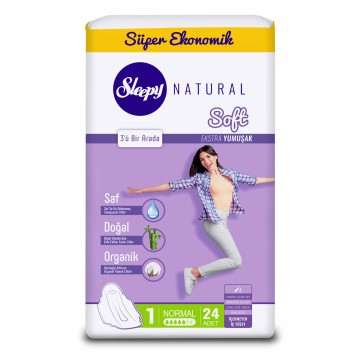 Sleepy - Natural Soft İnce Normal 30'lu