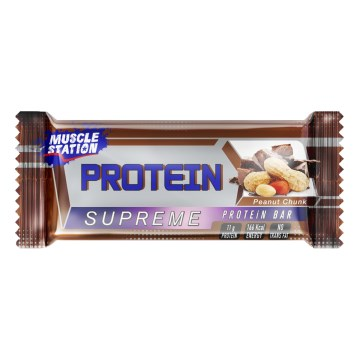 Muscle Station - Supreme Protein Bar Peanut 40gr