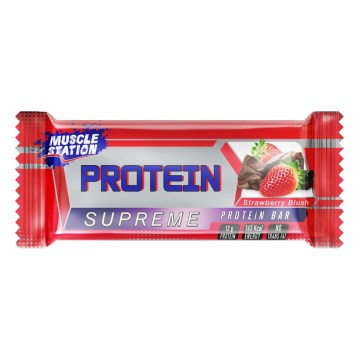 Muscle Station - Supreme Protein Bar Strawberry 40gr