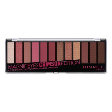 Rimmel London - Magnif'eyes Crimson Edition Eye Contouring Palette 007