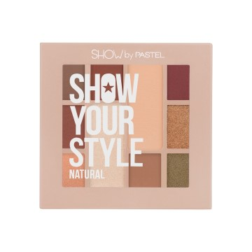 Pastel - Show Your Style Natural 10'lu Far Paleti